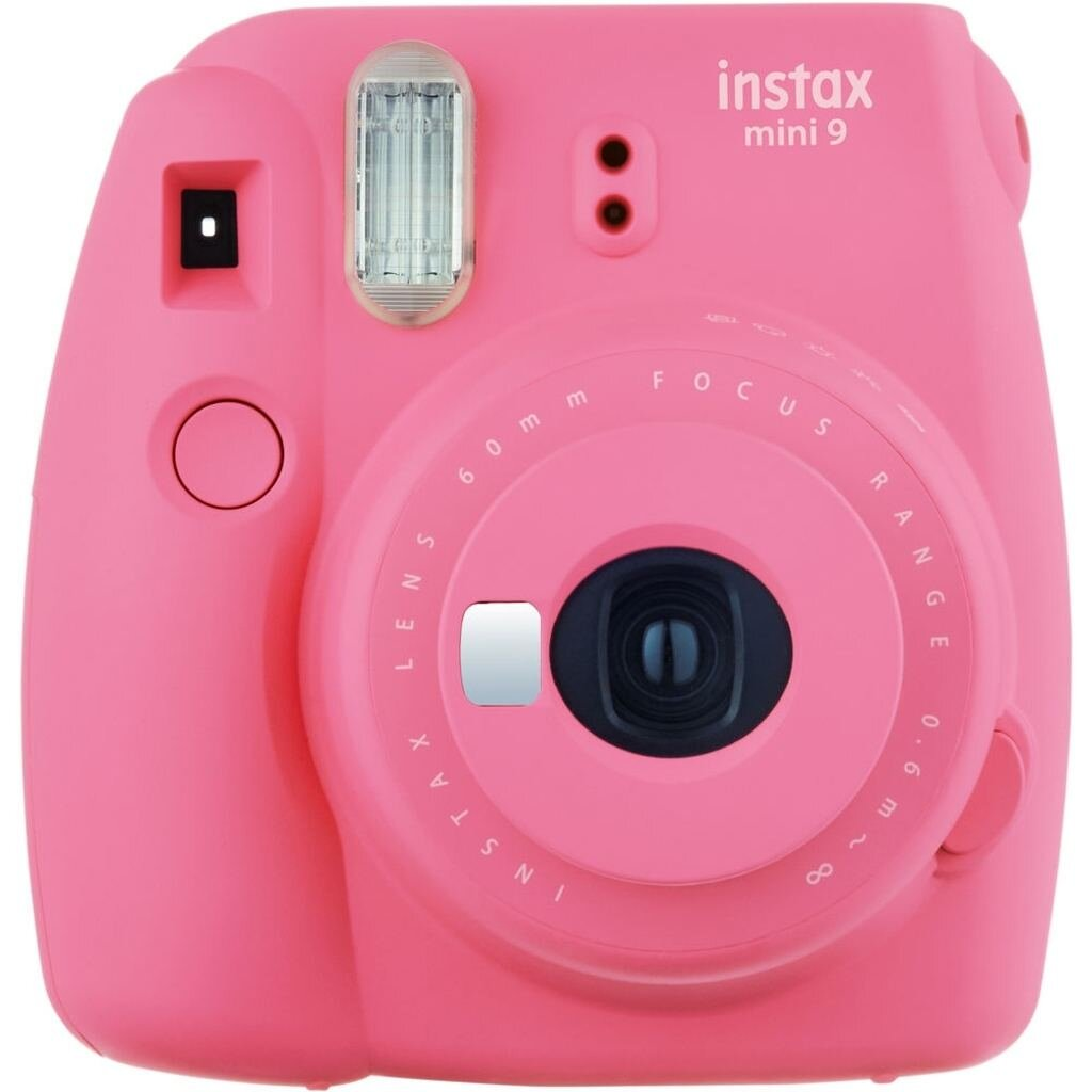 FujiFilm Sofortbildkamera Instax Mini 9 flamingo pink