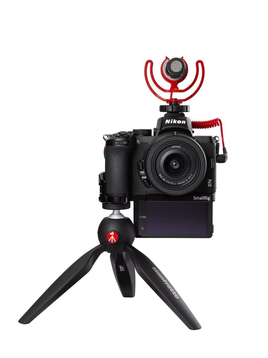 Nikon Z50 Vlogger-Kit + NIKKOR Z DX 16-50mm 1:3,5-6,3 VR + Video Zubehör
