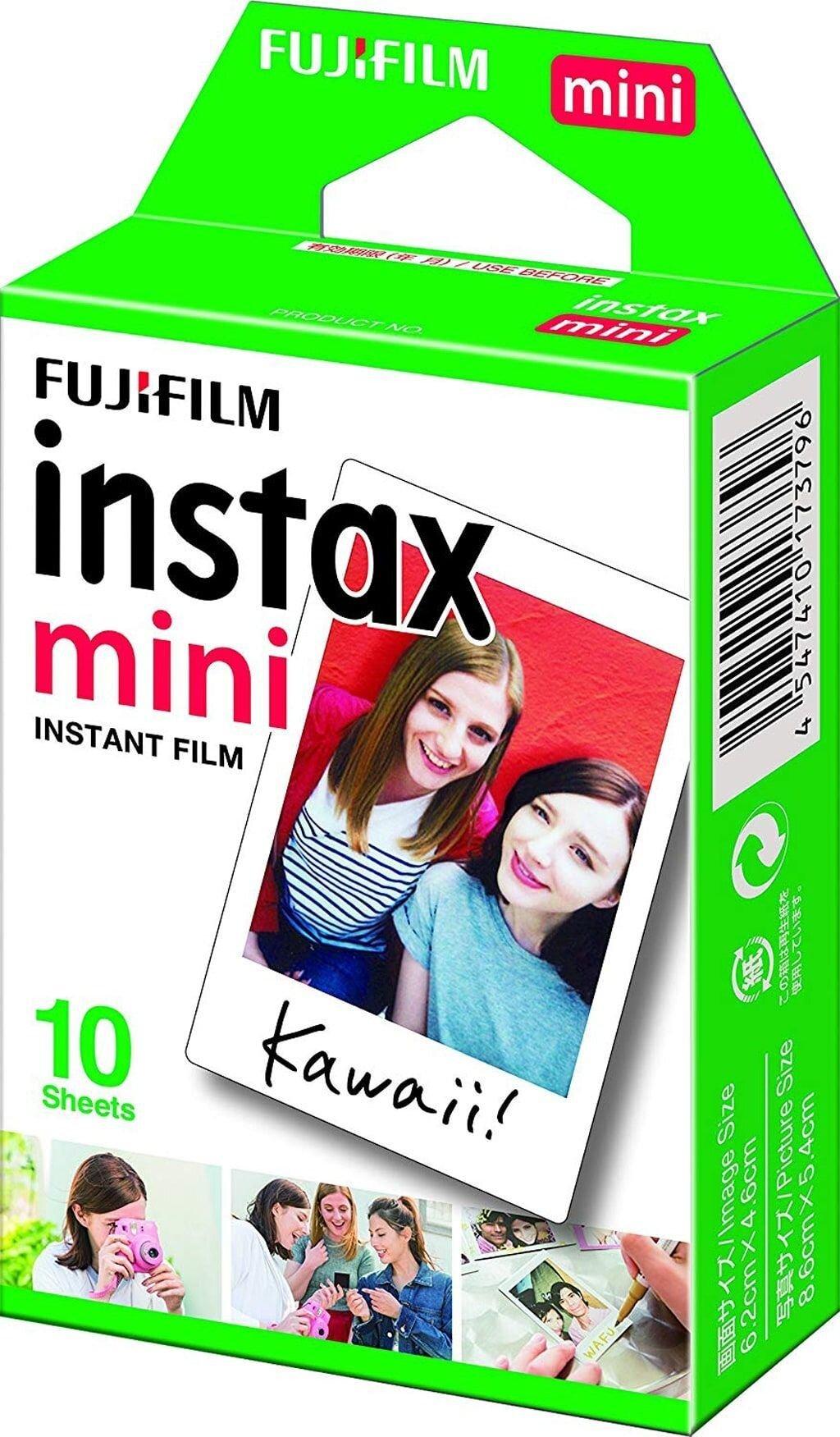 Fujifilm Instax Mini Sofortbildfilm für 10 Aufnahmen