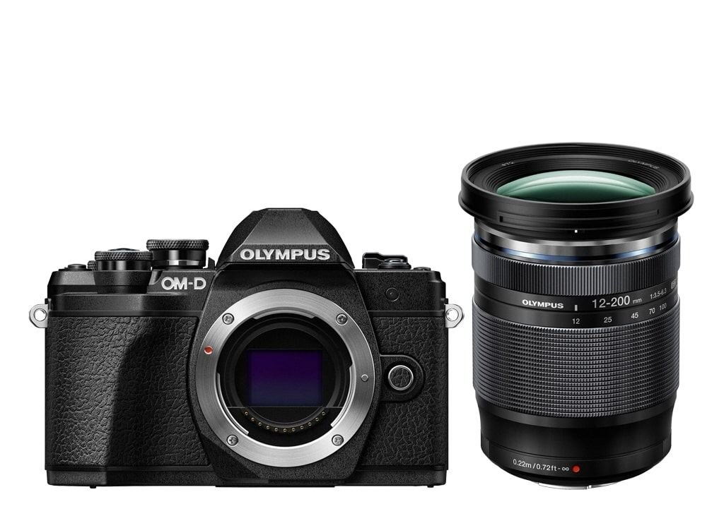 Olympus OM-D E-M10 Mark III schwarz inkl. M. Zuiko Digital 12-200mm 1:3,5-6,3