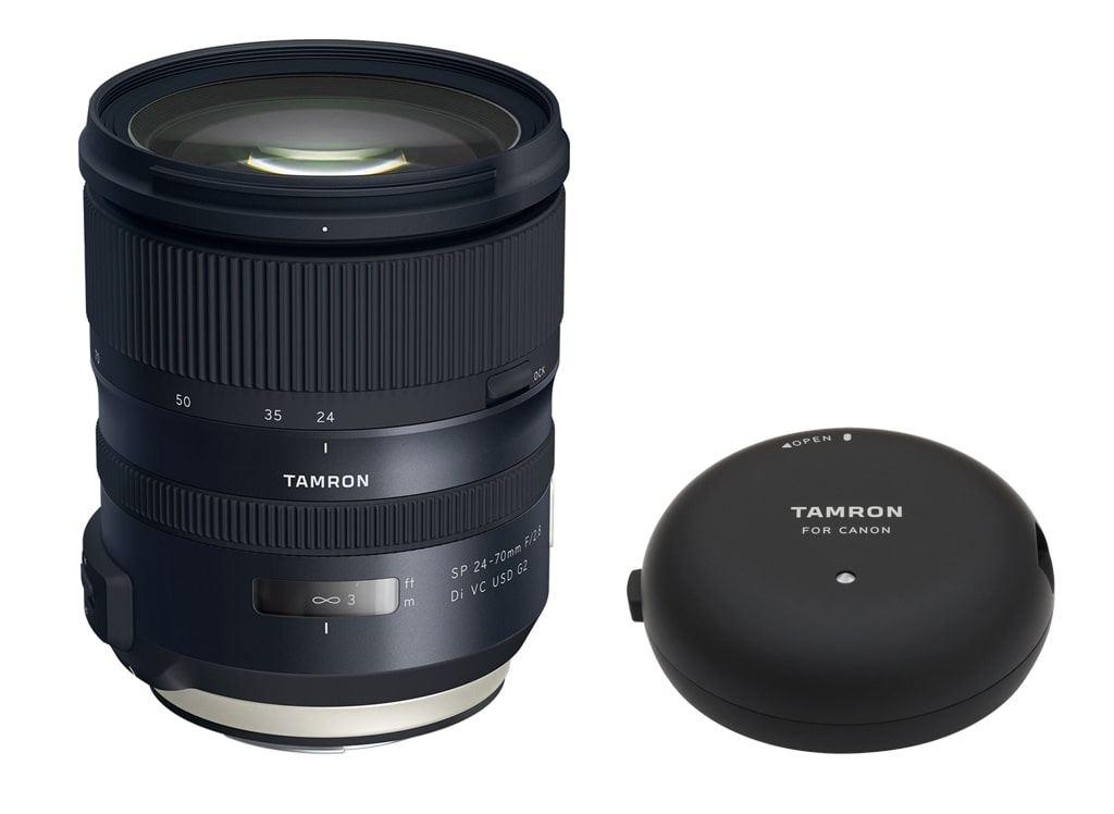 Tamron SP 24-70mm 1:2.8 Di VC USD G2 für Canon EF + Tamron TAP-in Console