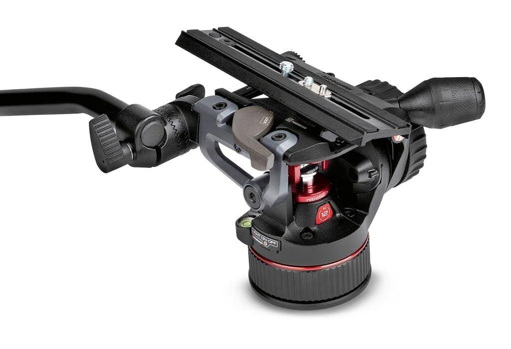 Manfrotto Nitrotech N12 Fluid Videokopf