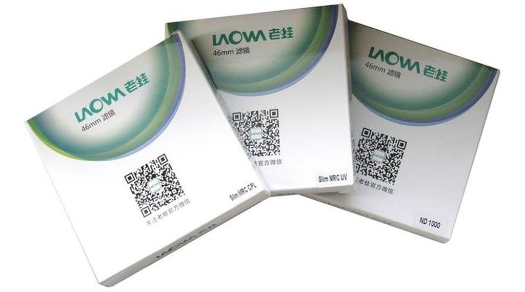 LAOWA Filterset 72mm (UV,POL,ND1000)