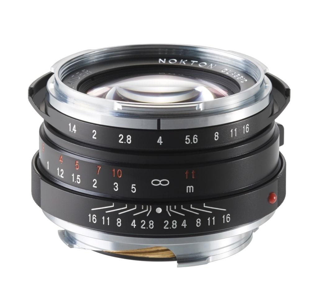 Voigtländer VM 40mm 1,4 Nokton M.C. Leica M schwarz