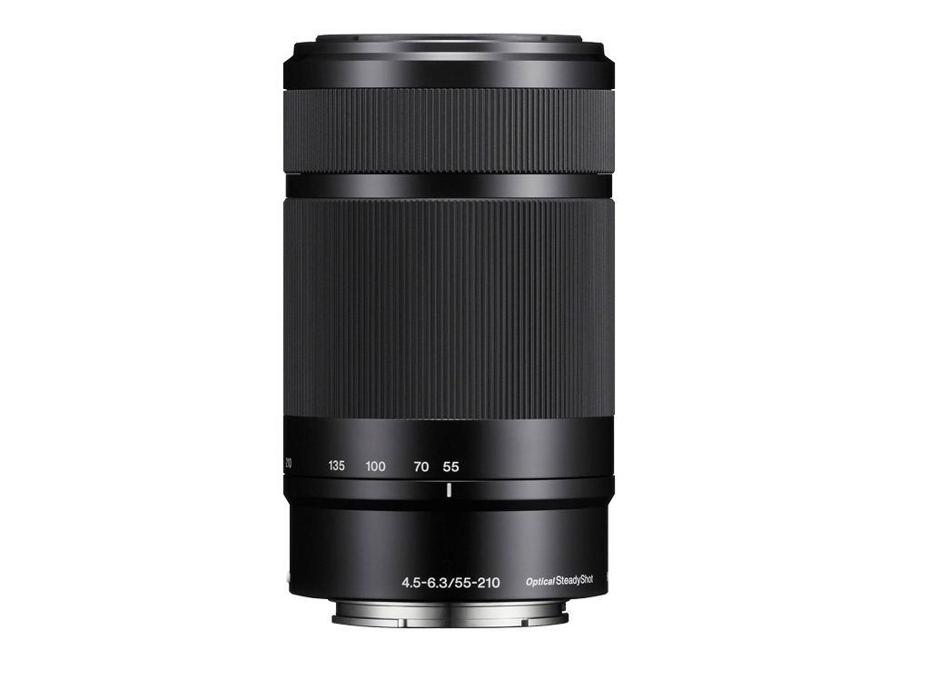 Sony SEL 55-210mm 1:4,5-6,3 OSS (SEL55210B) E-Mount schwarz