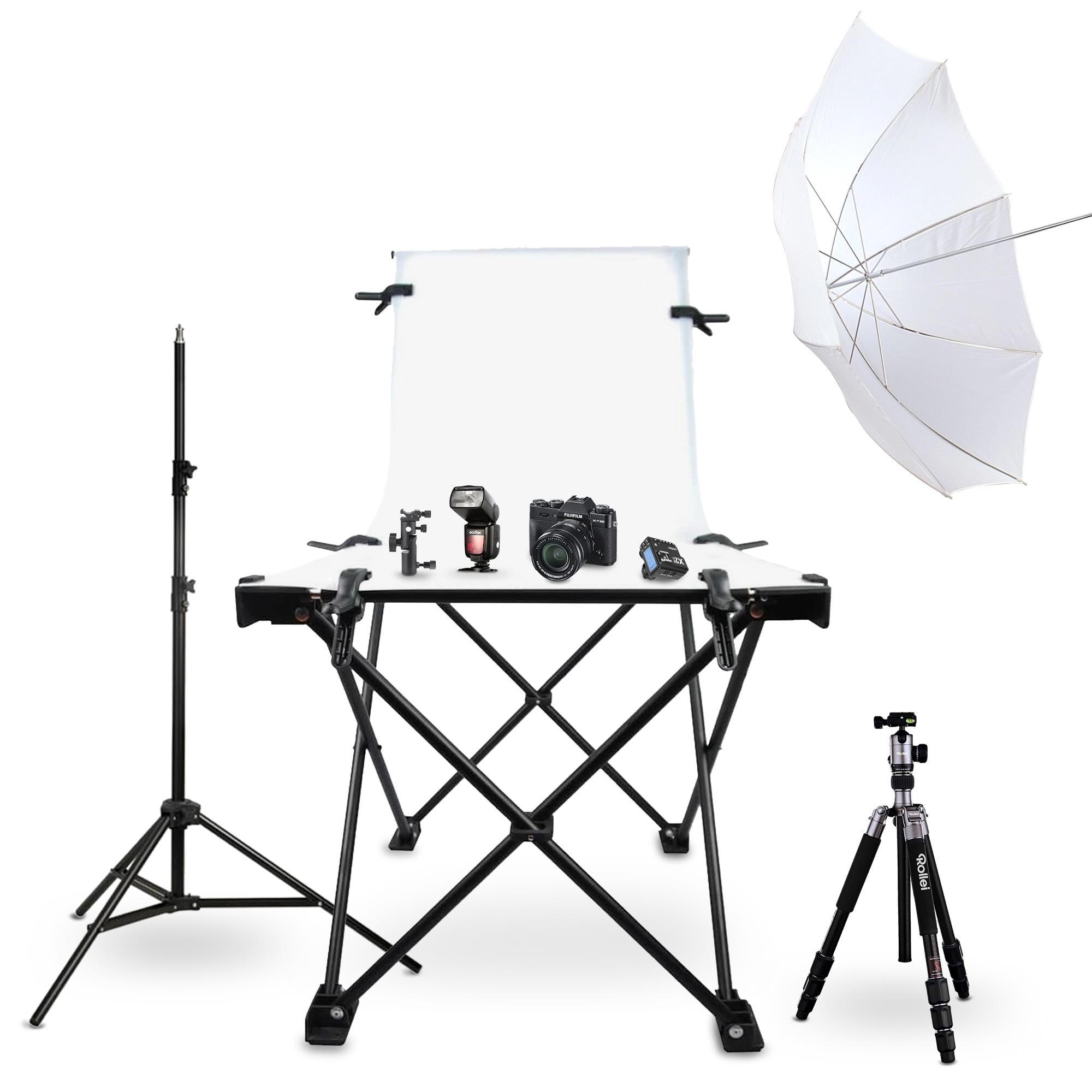 Fujifilm X-T30 schwarz Produktfotografie-Set 2 inkl. XF 18-55mm 1:2,8-4,0 R LM OIS