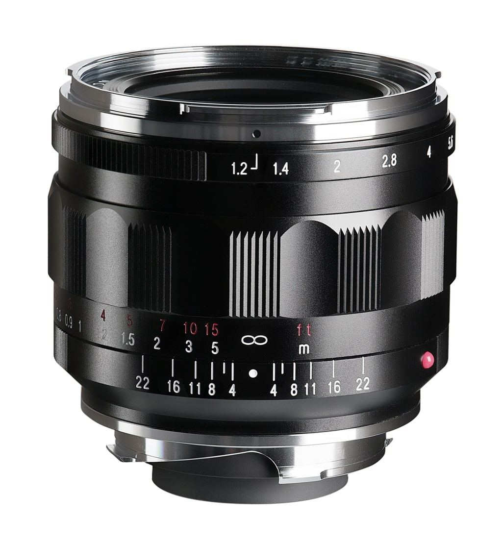 Voigtländer VM 35mm 1:1,2 Nokton asphärisch III Leica M schwarz