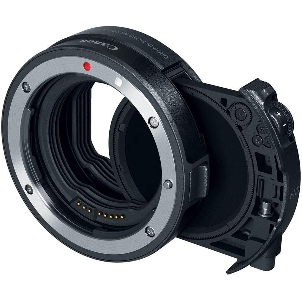 Canon EF-EOS R Adapter mit Polfilter Einsteckfilter (C-PL)
