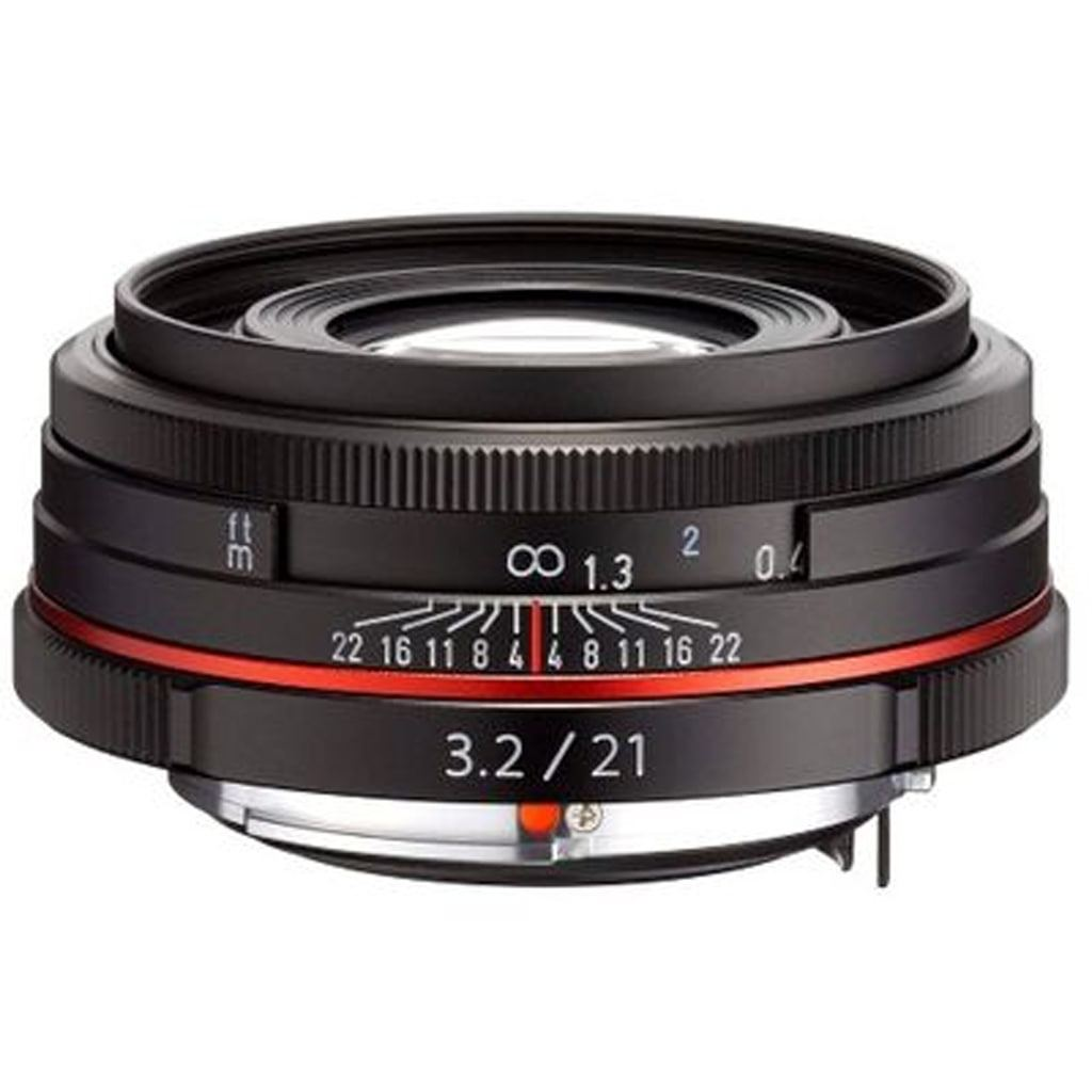 Pentax DA 21mm 1:3,2 HD AL Limited black