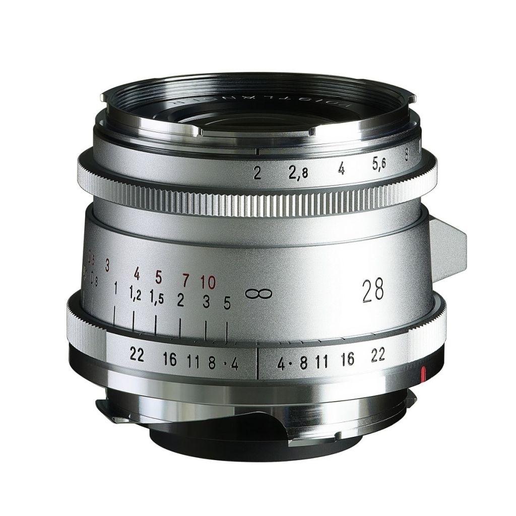 Voigtländer VM 28mm 1:2,0 Ultron asphärisch Type II Leica M silber