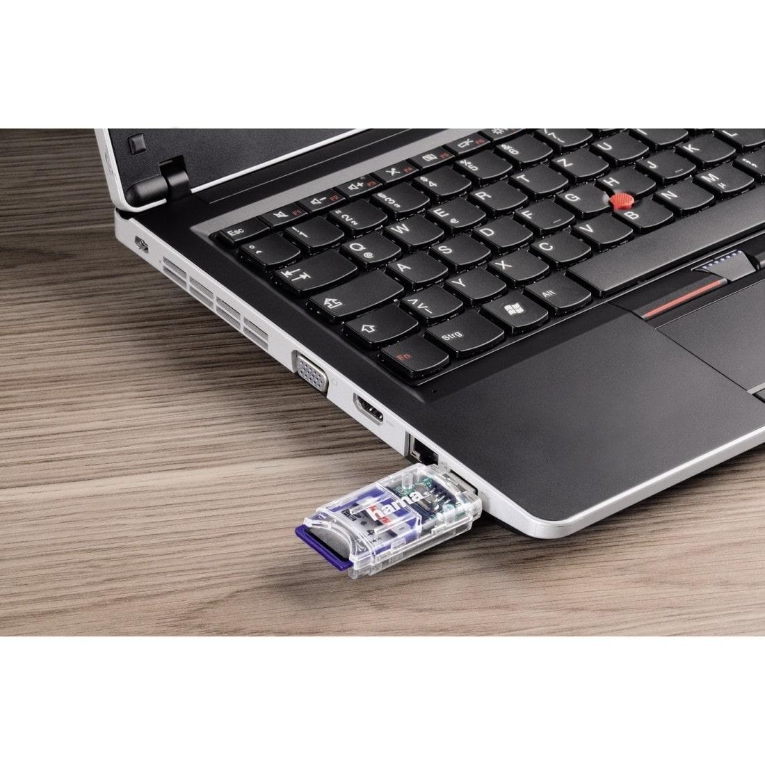 Hama Kartenleser USB 2.0 SD/micro SD
