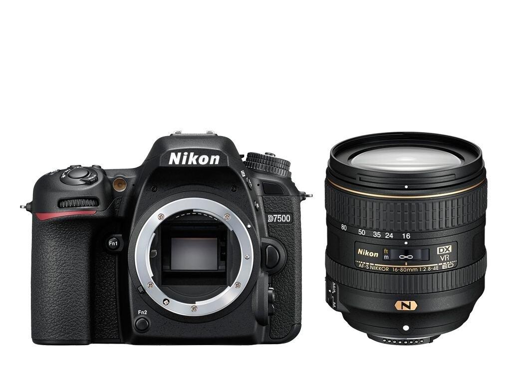 Nikon D7500 + AF-S DX NIKKOR 16-80mm 1:2,8-4E ED VR