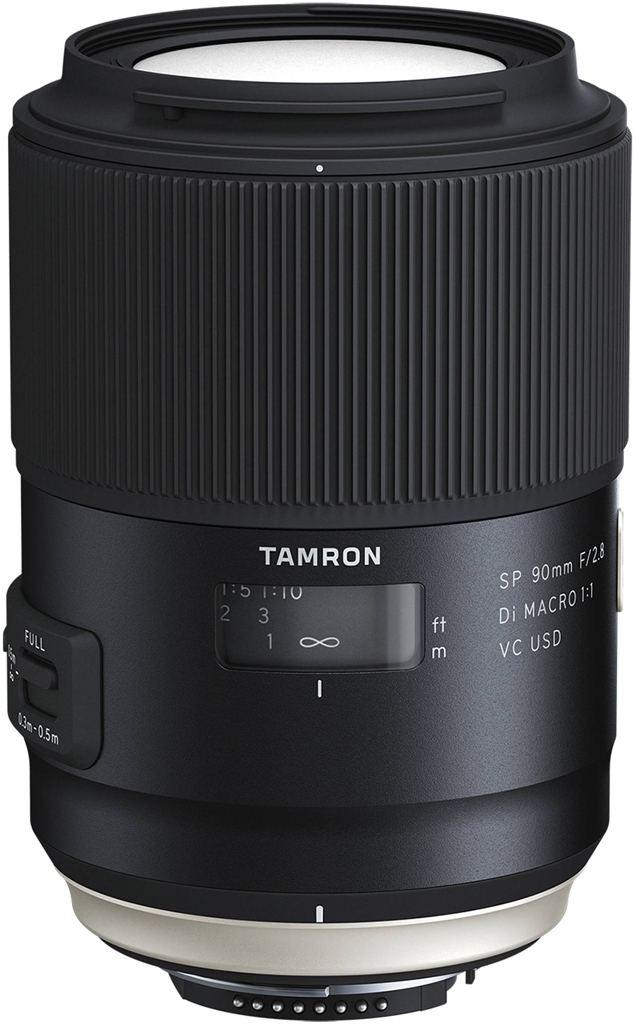 Tamron SP 90mm 1:2,8 Di USD VC Macro für Canon