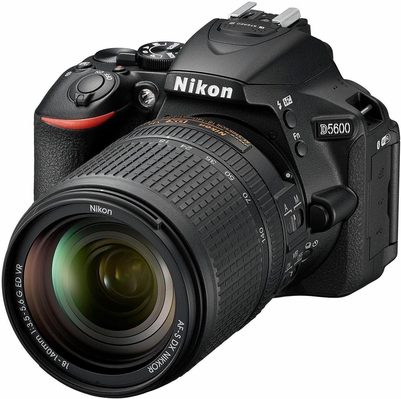 Nikon D3500 schwarz inkl. AF-S DX 18-140mm 1:3,5-5,6 G ED VR