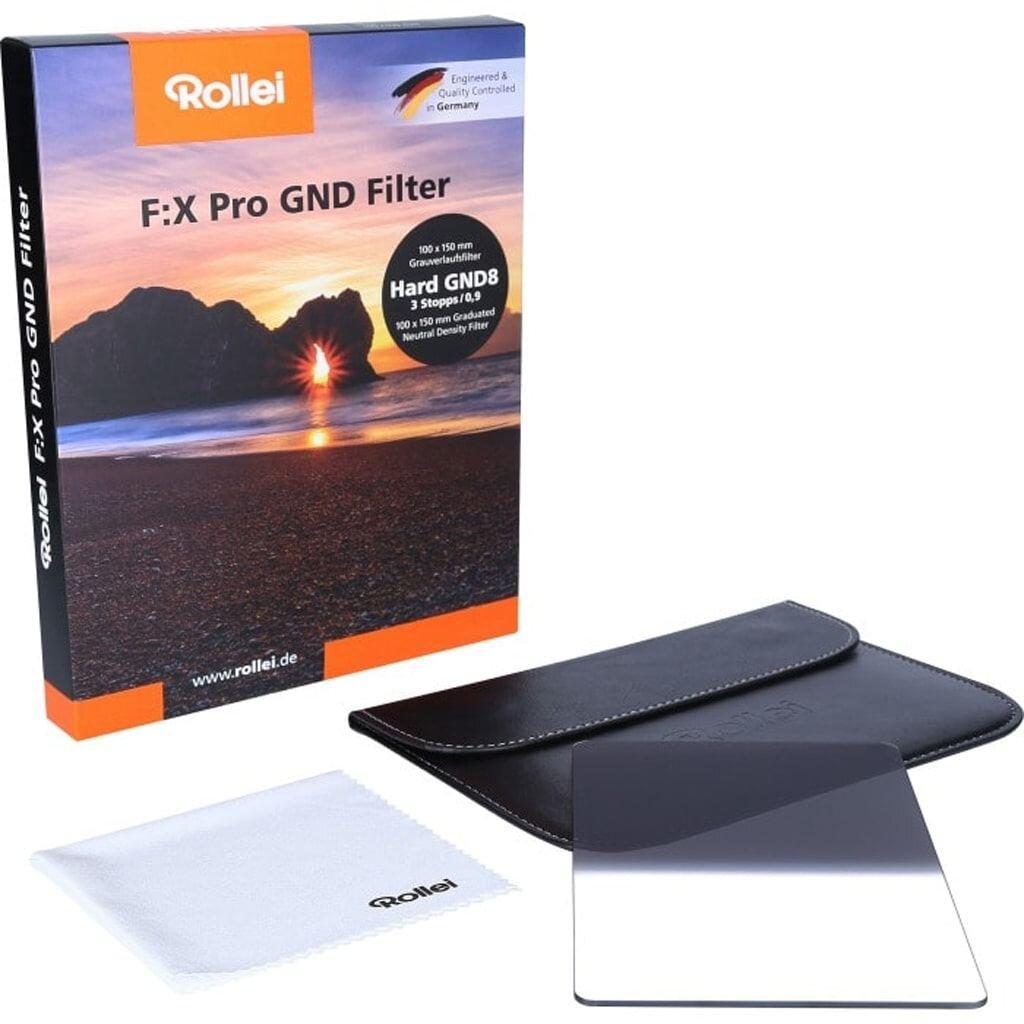 Rollei F:X Pro Hard GND8 Grauverlaufsfilter 100mm Rechteckfilter