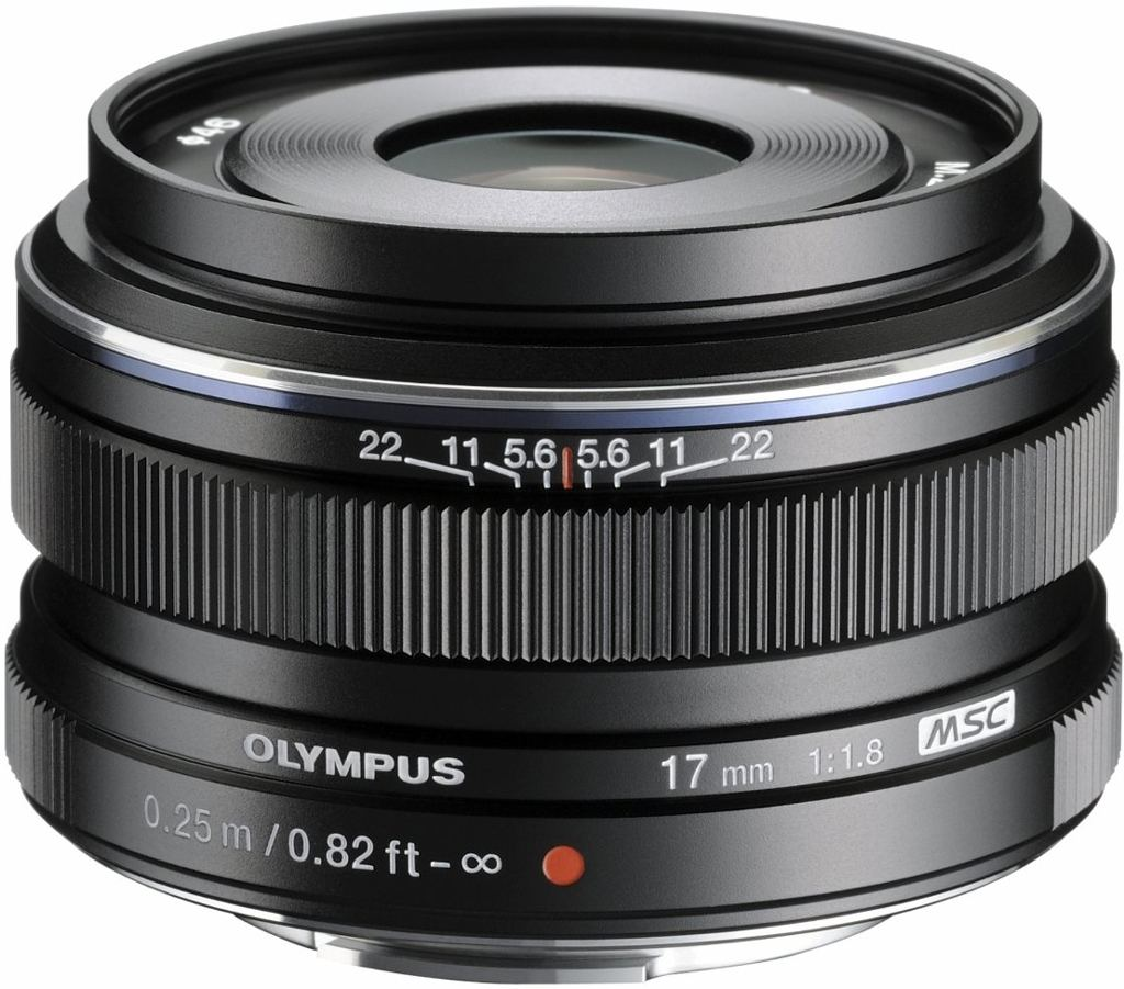 Olympus M. Zuiko Digital 17 mm 1:1,8 schwarz