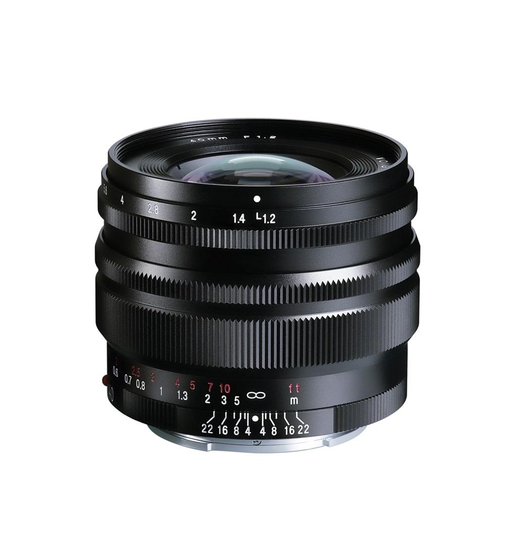 Voigtländer Sony E Mount 40mm 1:1,2 Nokton SE schwarz