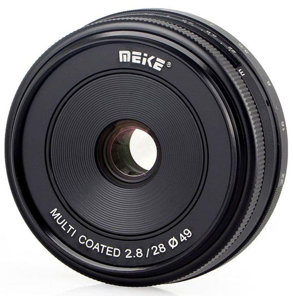 Meike 28mm 1:2,8 für Fuji X