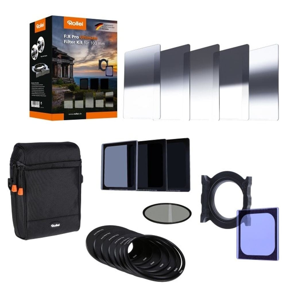 Rollei F:X Pro Ultimate Filter Kit GND8,ND8,64,1000+CPL für 100mm