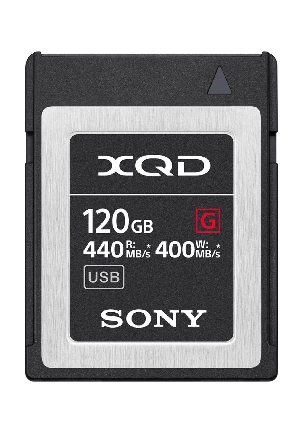 Sony XQD 120GB G-Serie (400/440MB/s) Speicherkarte