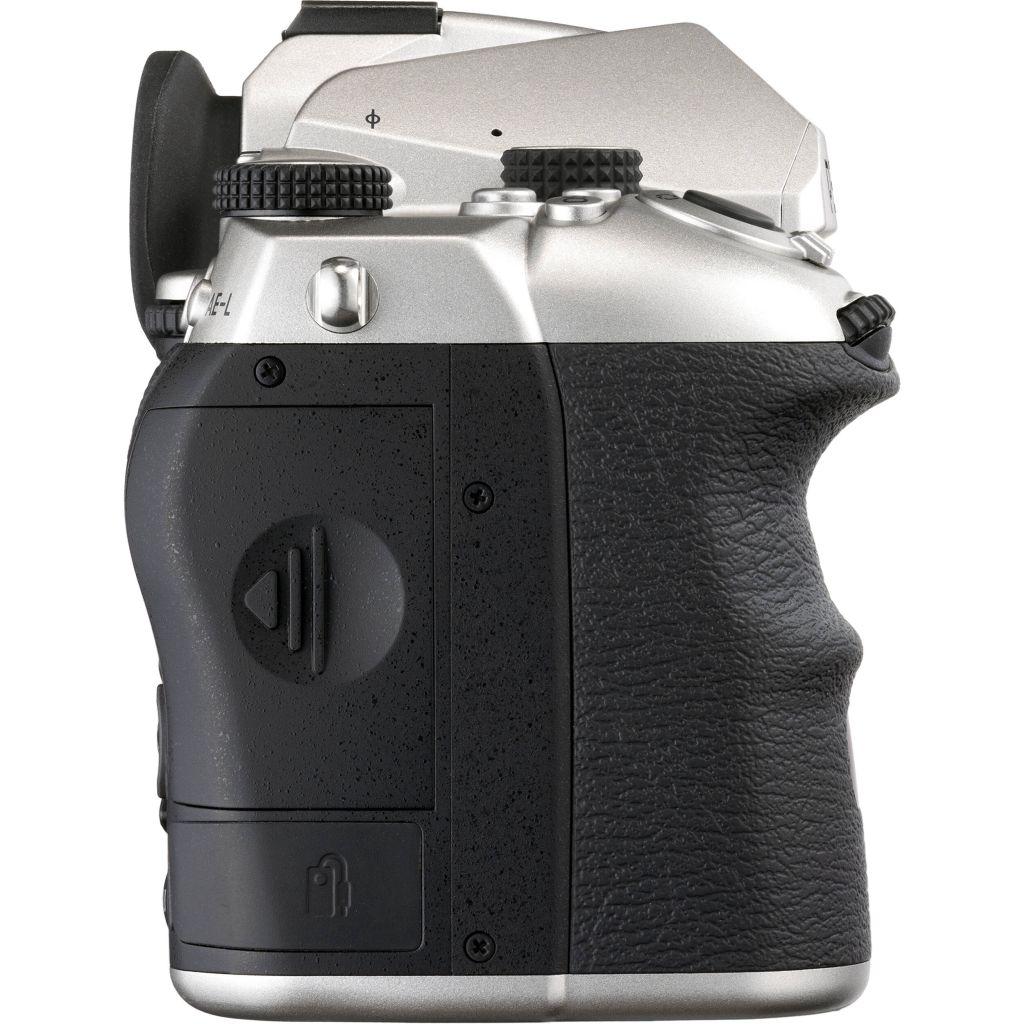 Pentax K-3 Mark III silber