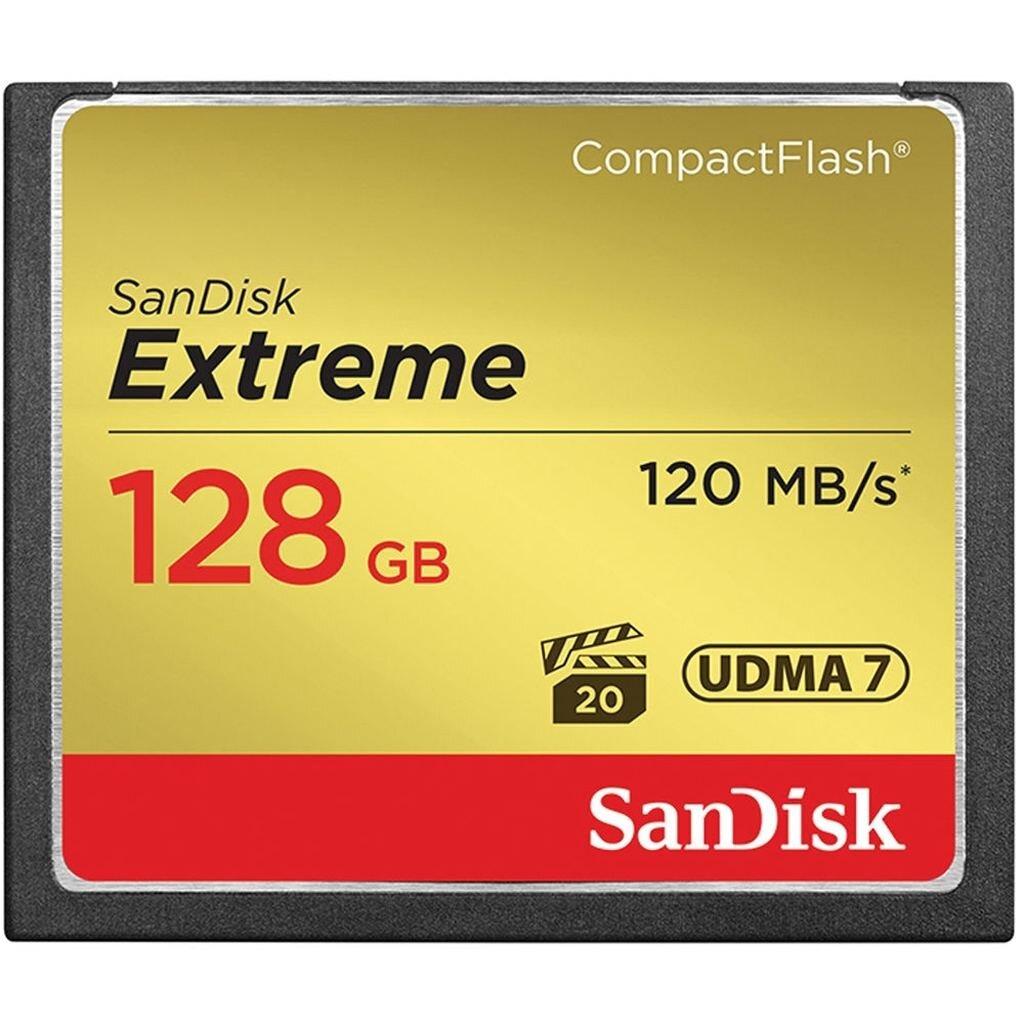 SanDisk CF Extreme 128GB 120MB/sec