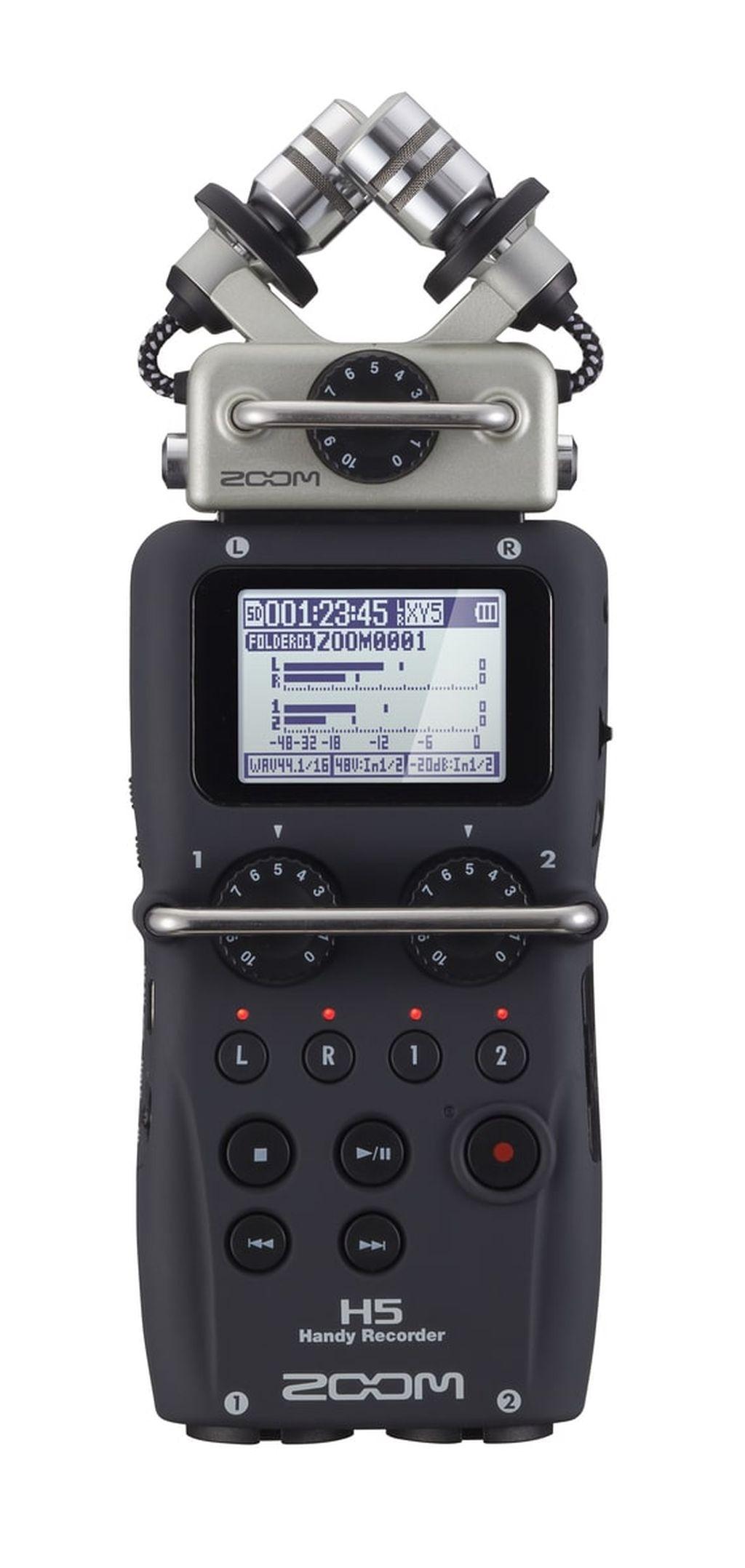Zoom H5 Audio Recorder portabel