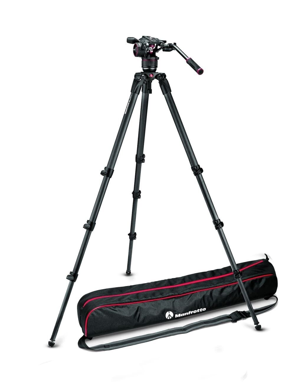 Manfrotto MVKN8CTALL Nitrotech N8 & 536 Single Leg