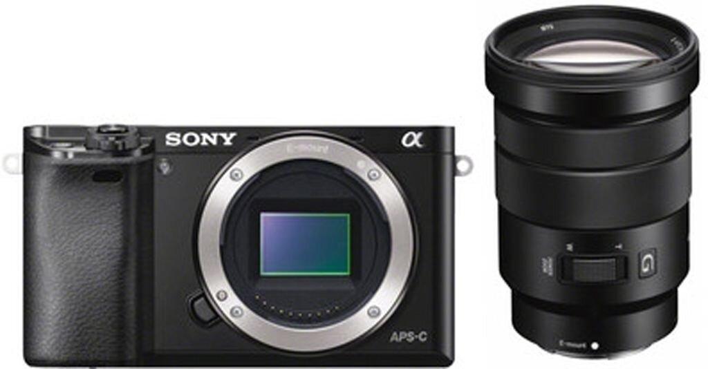 Sony alpha 6000 schwarz + SEL-P 18-105mm 1:4 G OSS PZ (SELP18105G)