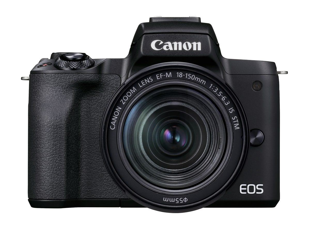 Canon EOS M50 II schwarz + EF-M 18-150 mm IS STM