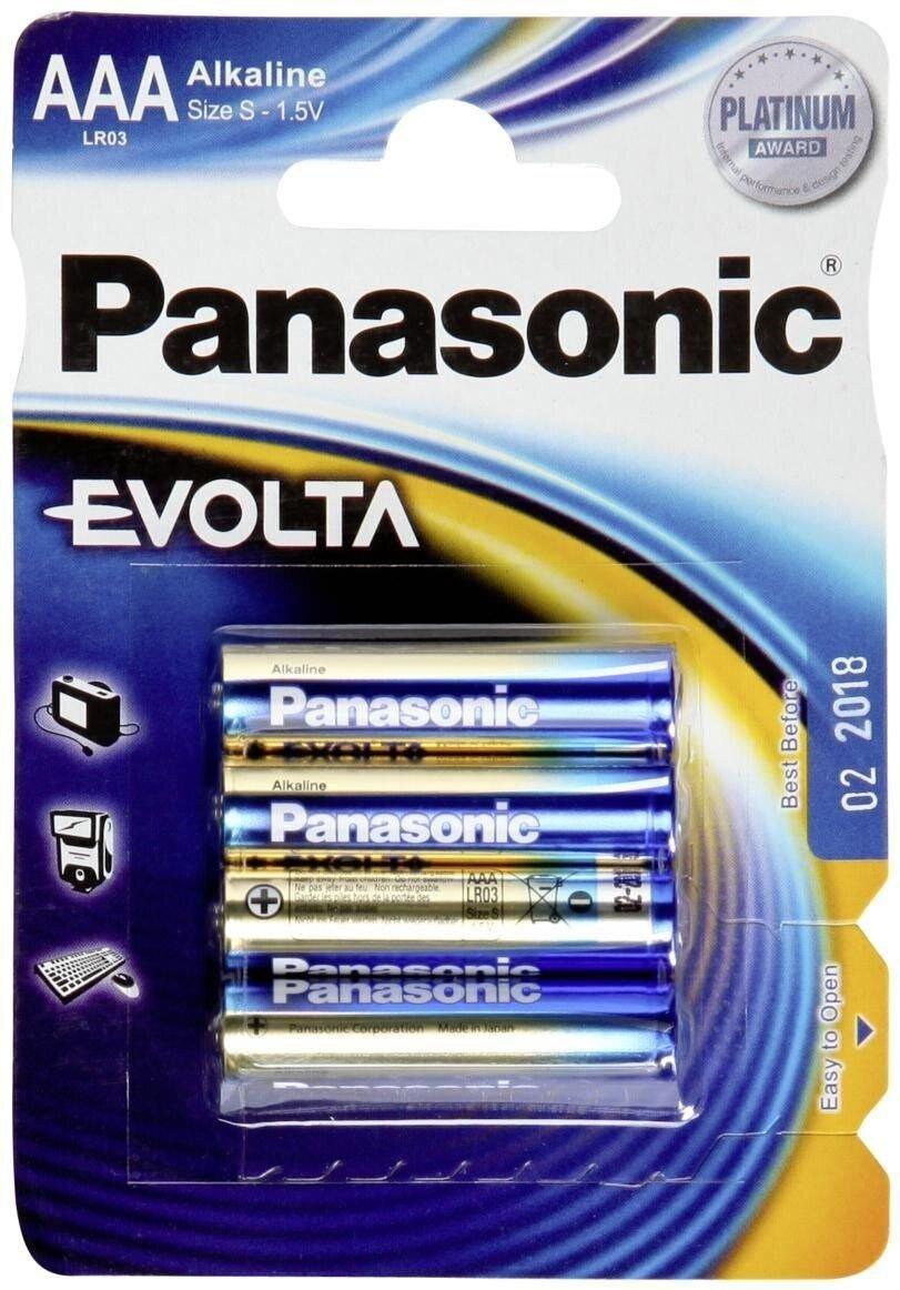 Panasonic Batterie Evolta LR03 4er Pack