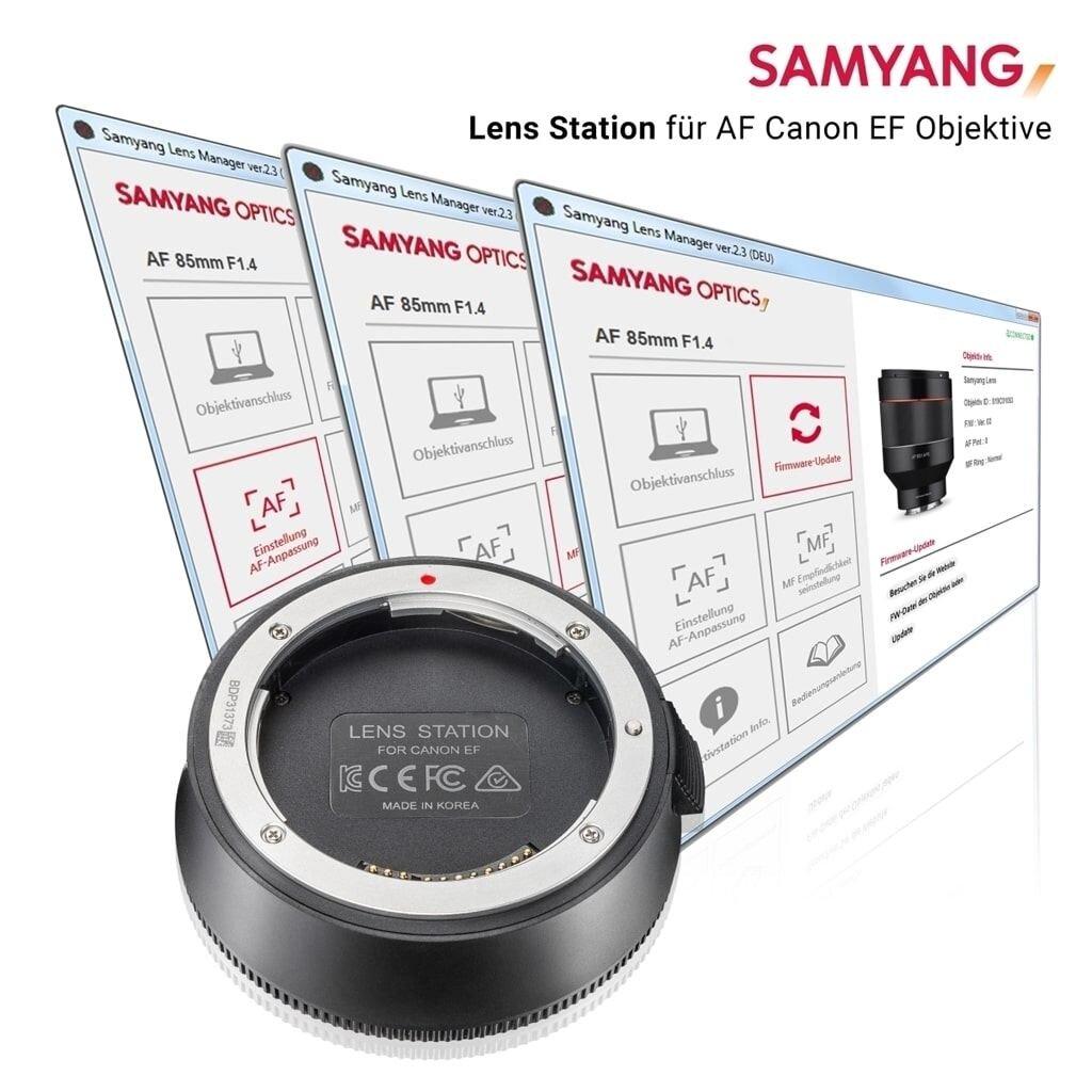 Samyang Lens Station für AF Objektive Canon RF Mount