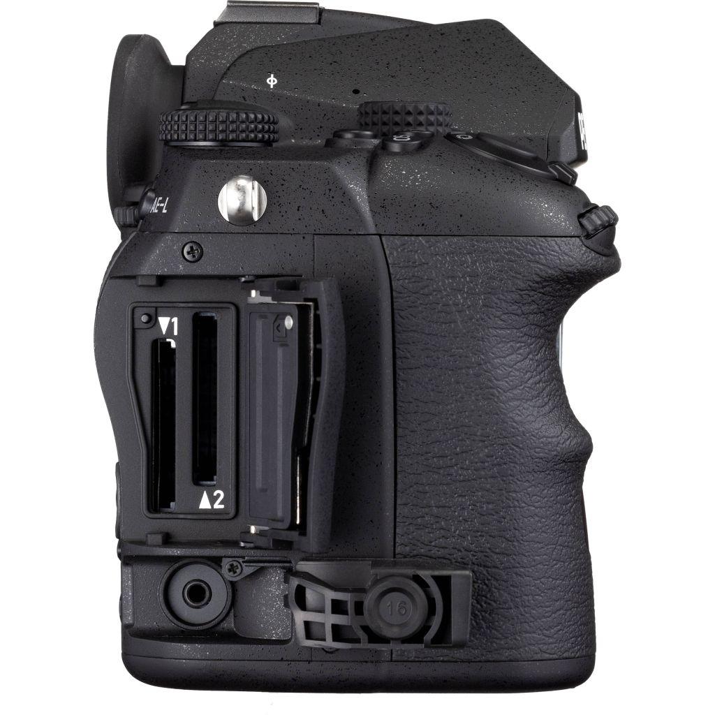 Pentax K-3 Mark III schwarz Premium Kit