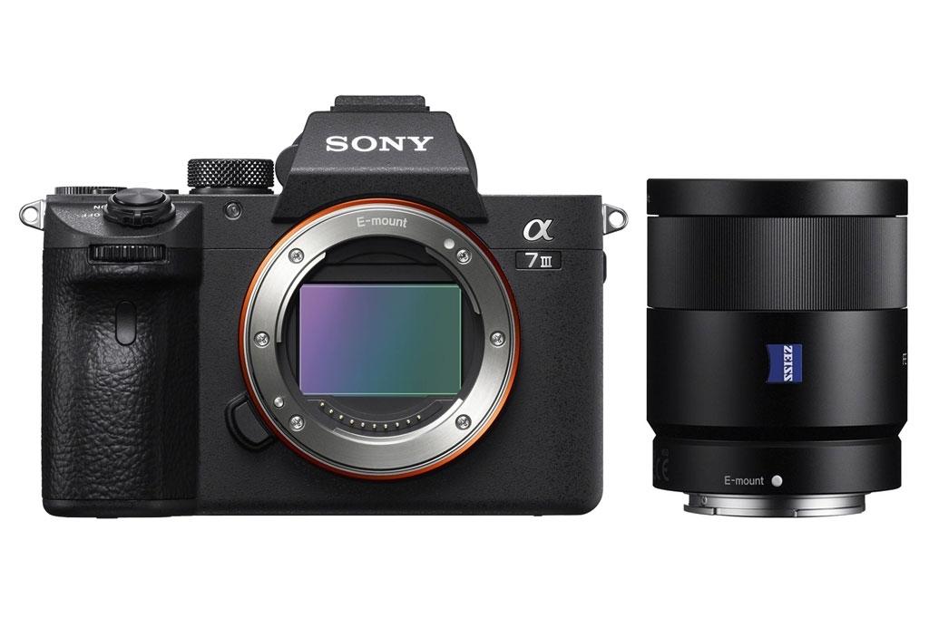 Sony Alpha 7 III (ILCE7M3B) + SEL FE 55mm 1:1,8 ZA Zeiss Sonar T* (SEL55F18Z)