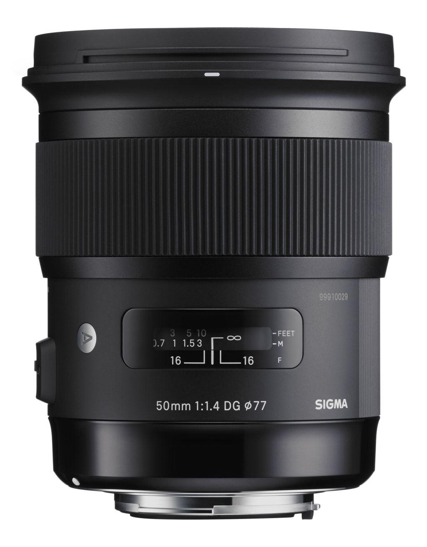 Sigma 50mm 1:1,4 DG HSM Art für Nikon F-Mount