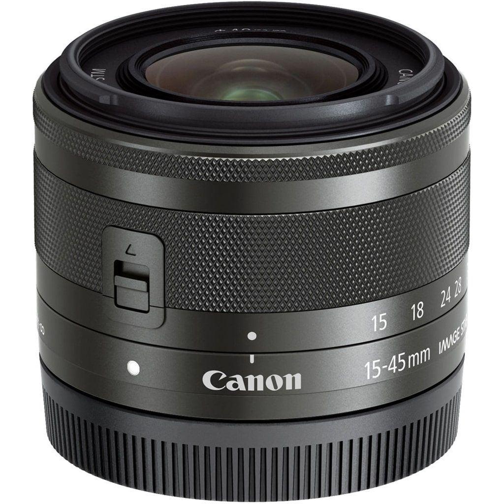 Canon EF-M 15-45mm 1:3,5-6,3 IS STM schwarz aus Set