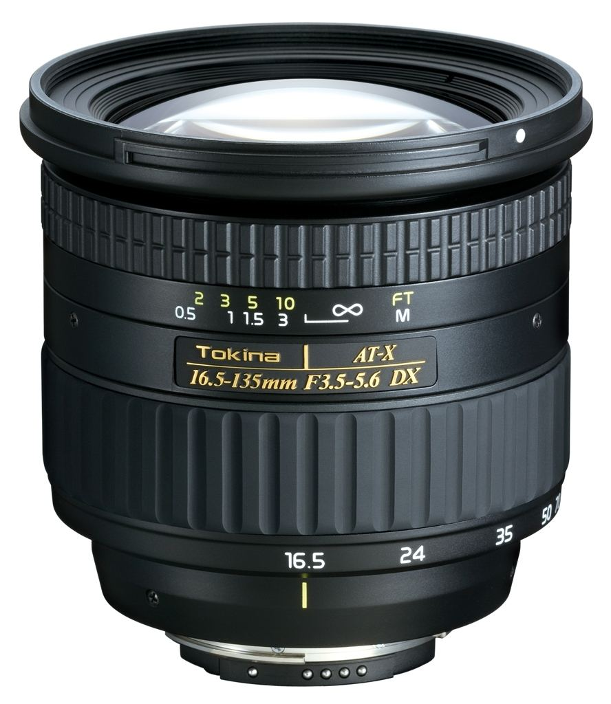 Tokina AT-X 16,5-135 mm 1:3,5-5,6 DX für Nikon AF