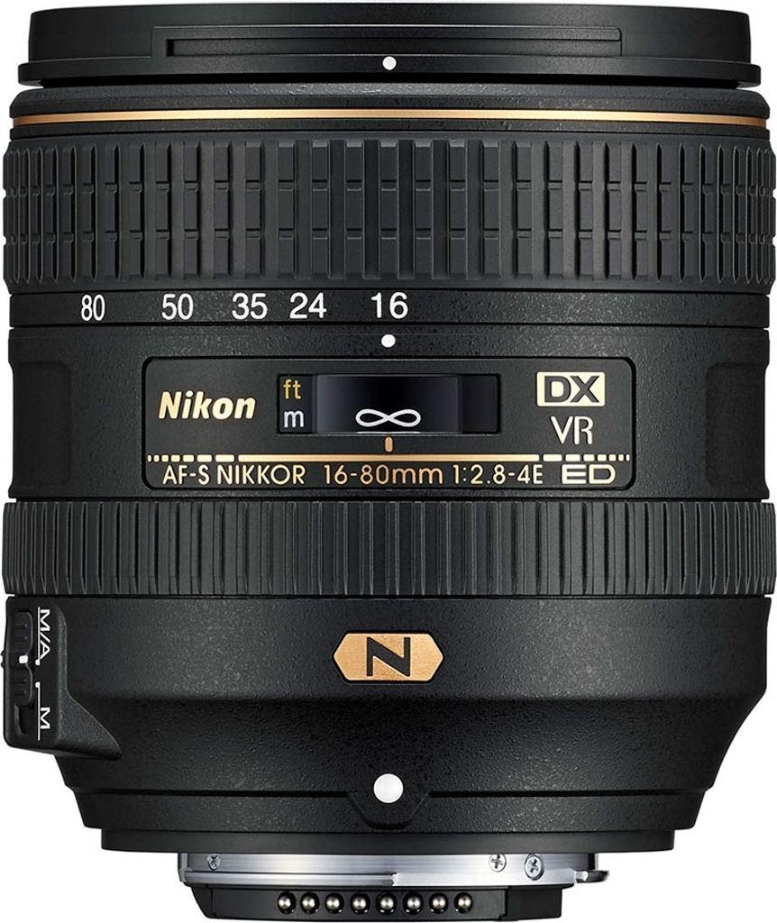 Nikon AF-S DX NIKKOR 16-80mm 1:2,8-4E ED VR aus Set