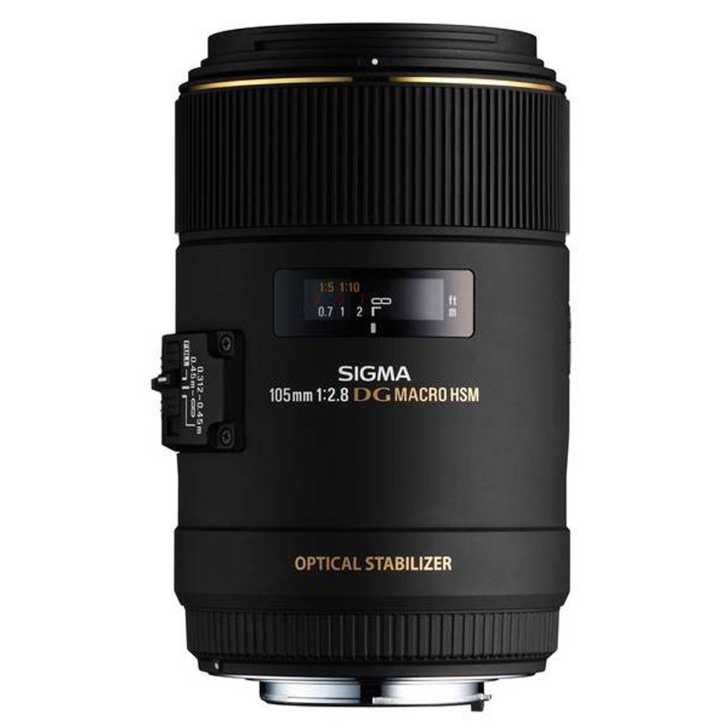 Sigma 105mm 1:2,8 EX DG Macro OS HSM für Canon EF