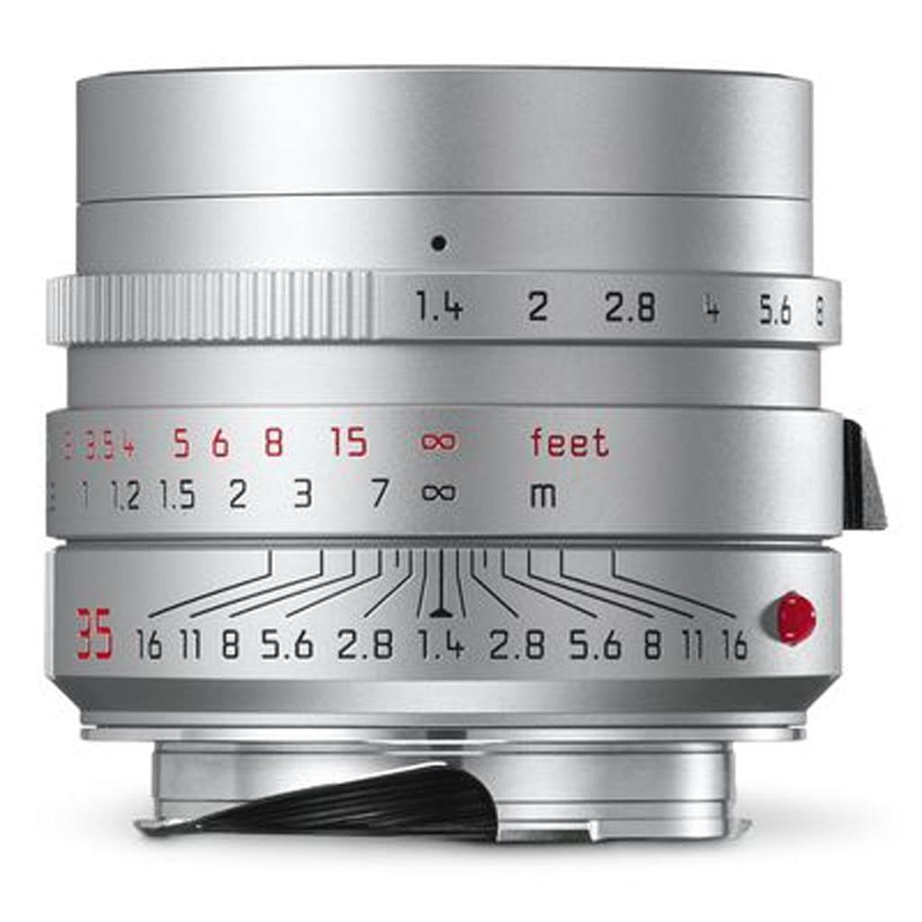 LEICA SUMMILUX-M 1.4/35 mm ASPH., silbern eloxiert 11675