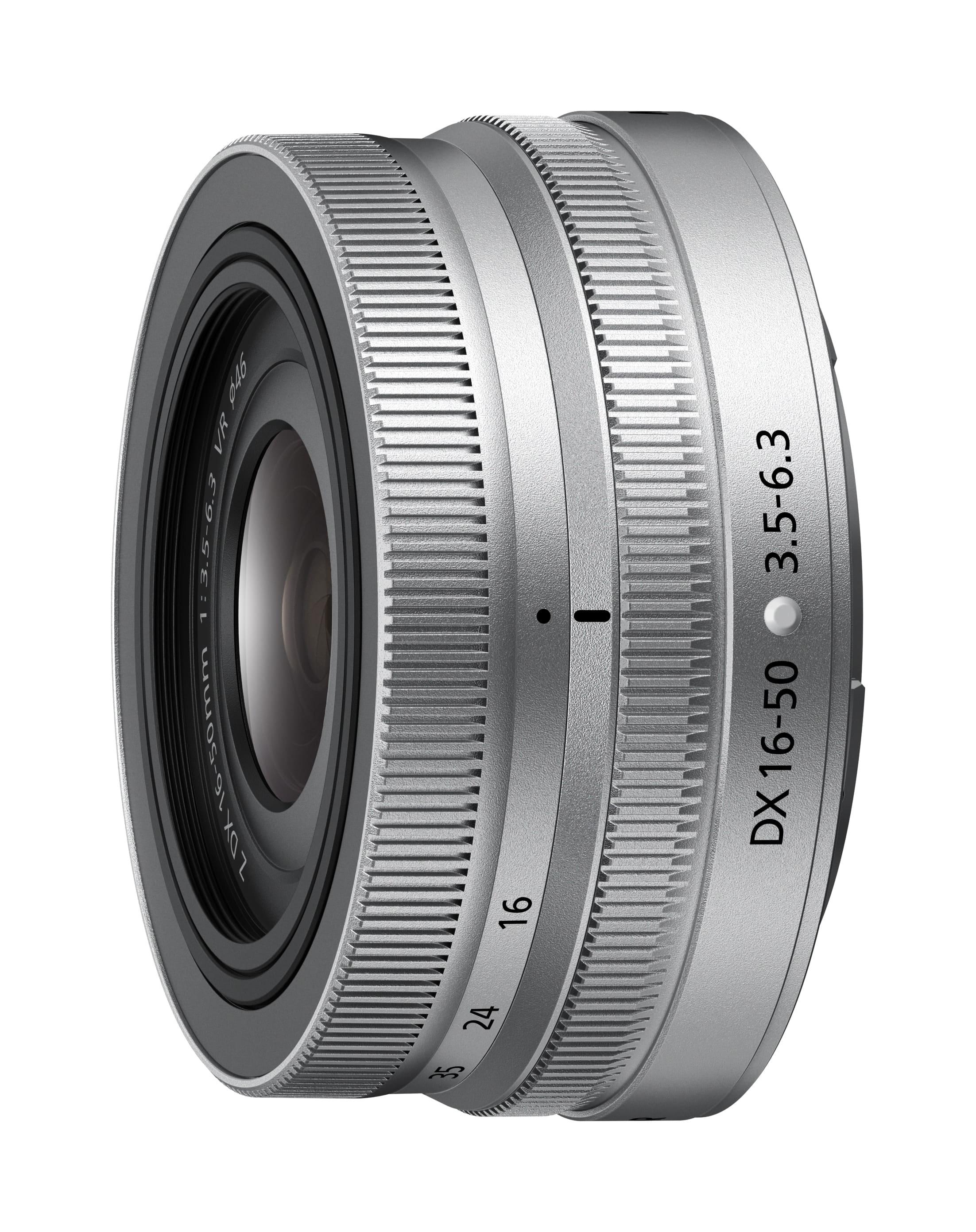 Nikon NIKKOR Z DX 16-50mm 1:3.5-6.3 VR  Silver Edition