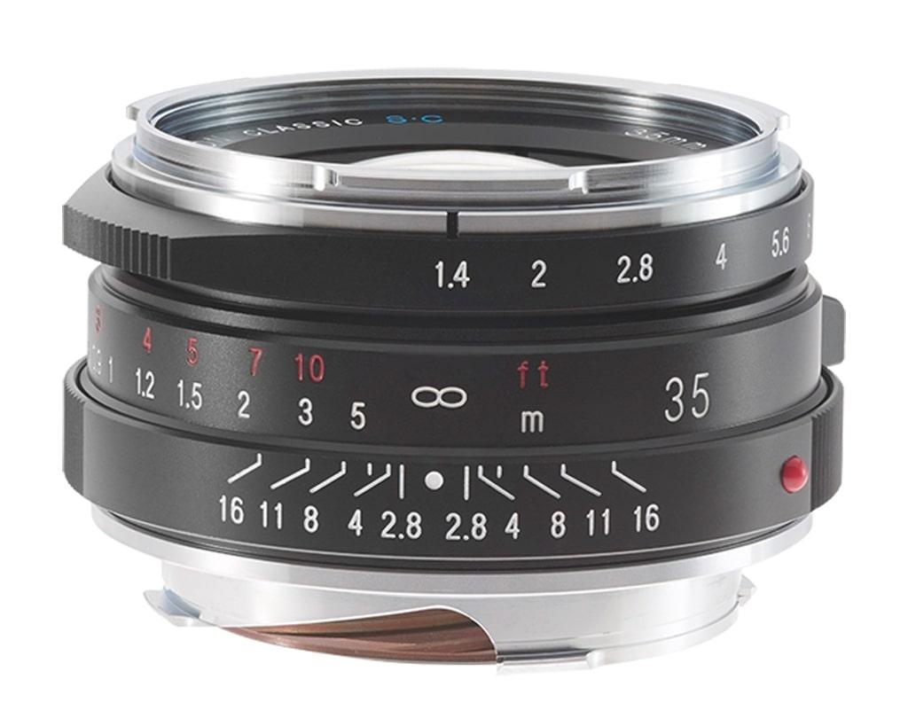 Voigtländer VM 35mm 1,4 Nokton S.C. II Leica M schwarz