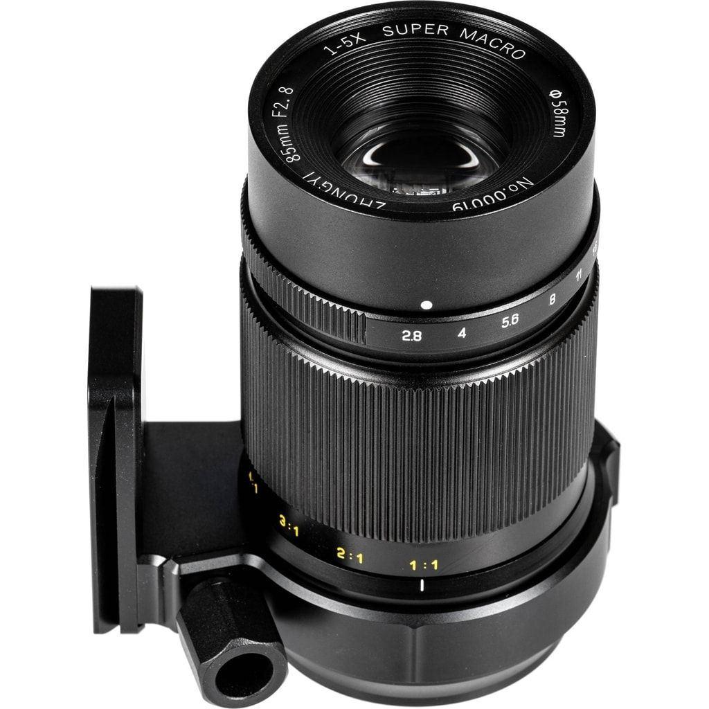 Zhongyi Mitakon Creator Super Macro 85mm 1:2.8 für MFT