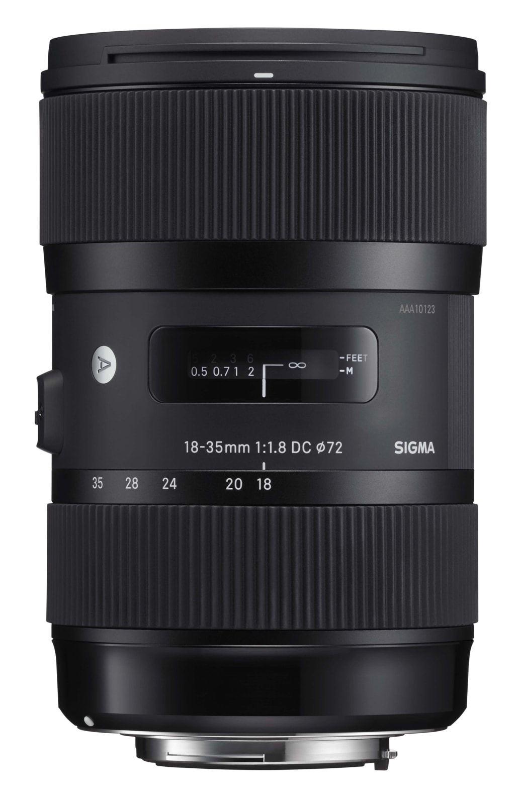 Sigma 18-35mm 1:1,8 DC HSM Art für Canon EF