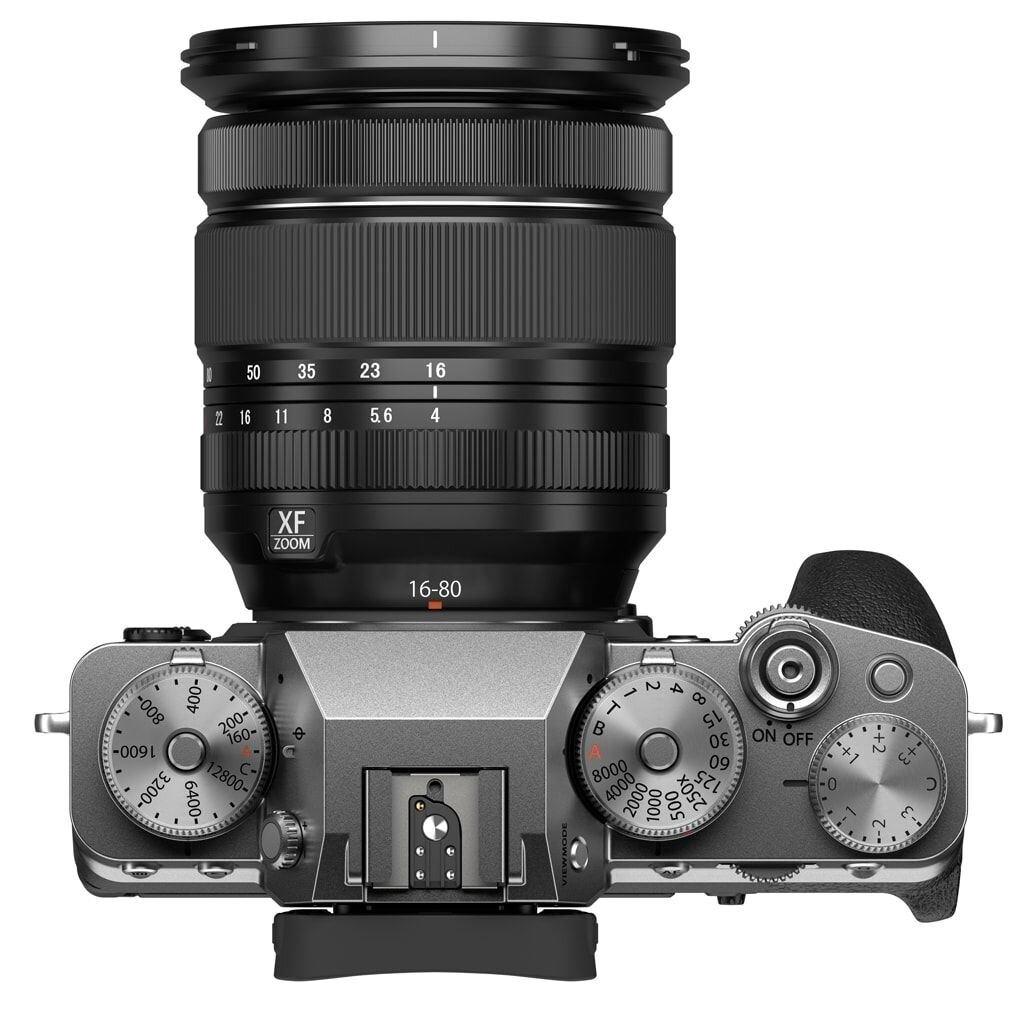 Fujifilm X-T4 silber inkl. XF 16-80mm 1:4 R OIS WR + VG-XT4 Batteriehandgriff