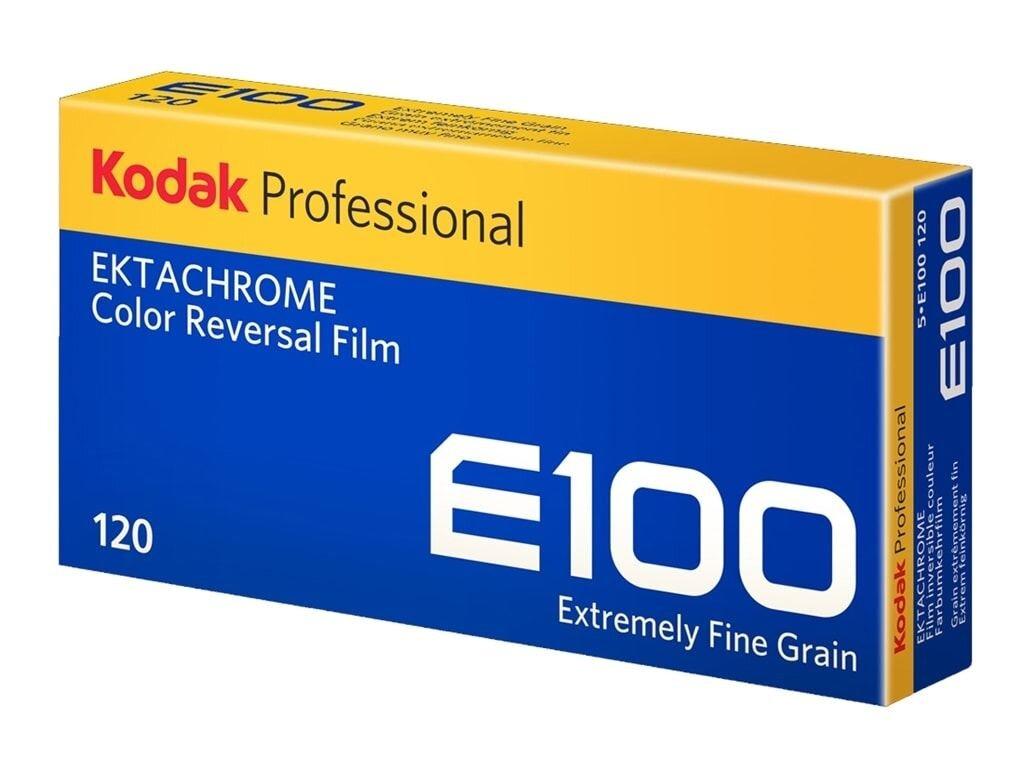 Kodak Ektachrome E100 120 5er Pack Dia-Rollfilm
