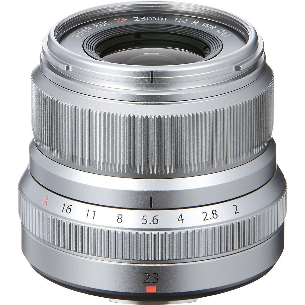 Fujifilm XF 23mm 1:2,0 R WR silber