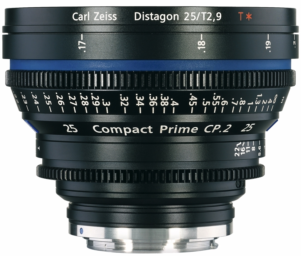 ZEISS f. EF mount CP.2 25 mm 1:2,9 T* Distagon