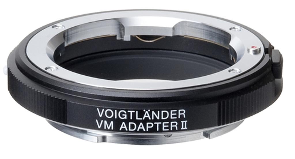 Voigtländer Adapter Typ VM / E Version 2 schwarz