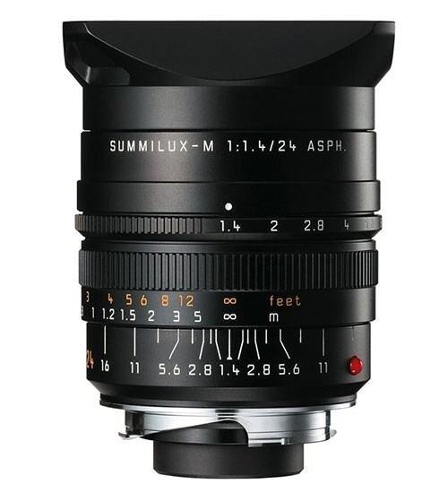 LEICA SUMMILUX-M 1.4/24 ASPH., schwarz eloxiert 11601